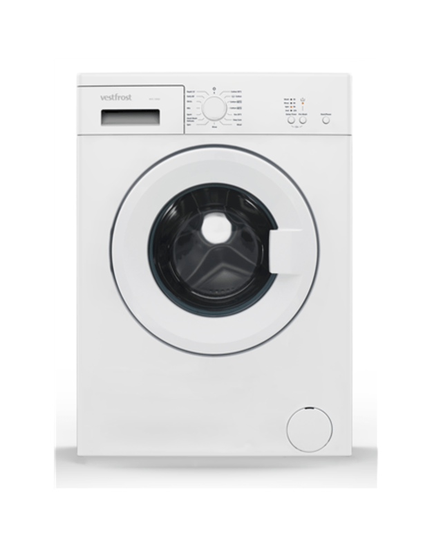 VestFrost Washing machine WVC 10550 Front loading, Washing capacity 5 kg, 1000 RPM, A++, Depth 51 cm, Width 60 cm, White,