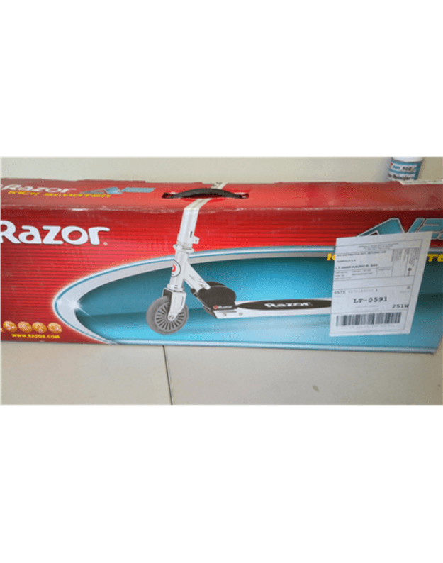 SALE OUT. Razor A125 Scooter - Black Clear GS (German Standard), DEMO ,USED Razor Black