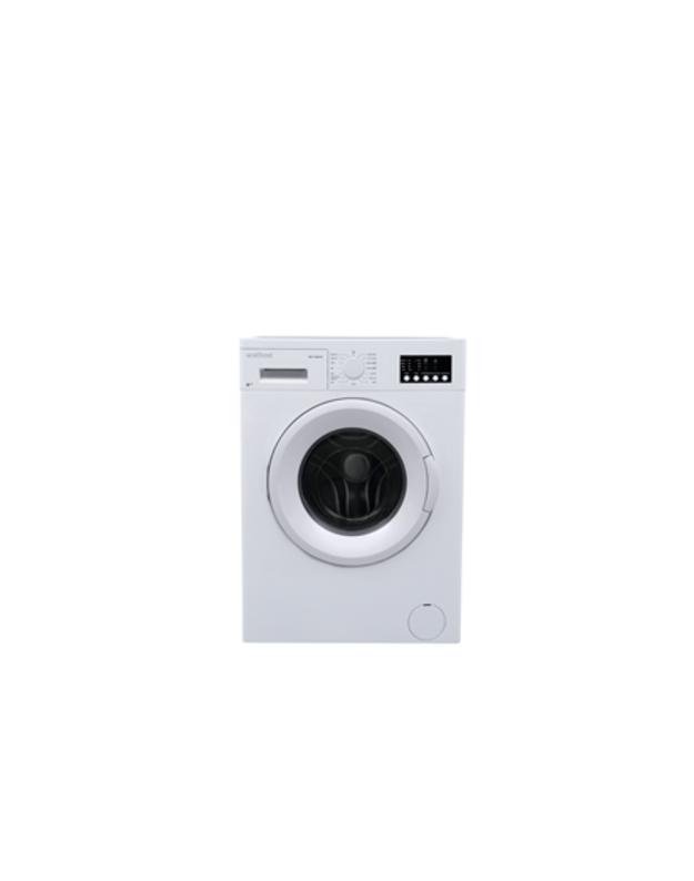 VestFrost Washing machine  WVC 12644 F2  Front loading, Washing capacity 6 kg, 1200 RPM, A++, Depth 52 cm, Width 60 cm, White, LED, Display,