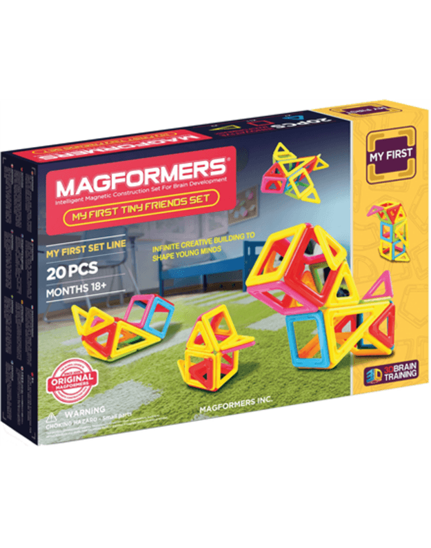 Magformers My First Tiny Friends 20 Set